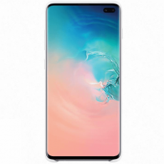 Samsung Galaxy S10+ Silicone Cover white