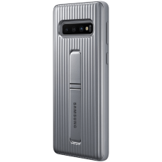 Samsung Galaxy S10 Protective Cover silver
