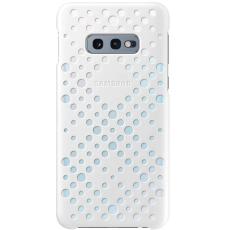 Samsung Galaxy S10e Pattern Cover white&yellow
