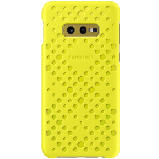 Samsung Galaxy S10e Pattern Cover white&yellow