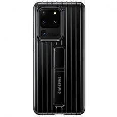 Samsung Galaxy S20 Ultra Protective Standing Cover black
