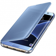Samsung Galaxy S7 Edge Clear View Cover Blue