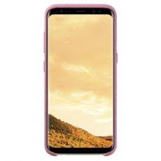 Samsung Galaxy S8+ Alcantara Cover Pink