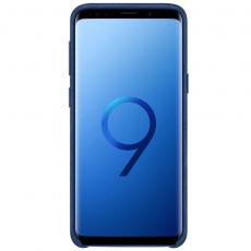 Samsung Galaxy S9 Alcantara Cover Blue