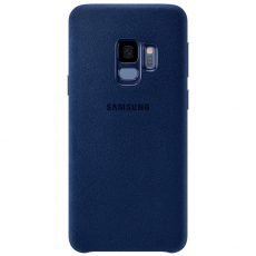 Samsung Galaxy S9 Alcantara Cover Blue