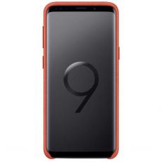 Samsung Galaxy S9 Alcantara Cover Red