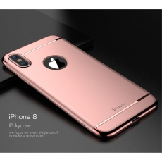 iPaky Apple iPhone X Style-suojakotelo pink