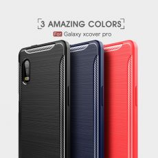 LN TPU-suoja Galaxy Xcover Pro Red