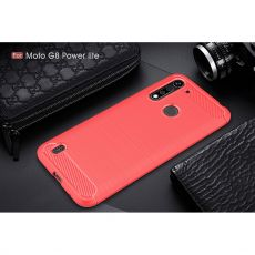 LN TPU-suoja Moto G8 Power Lite red