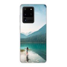 TPU-suoja omalla kuvalla Galaxy S20 Ultra