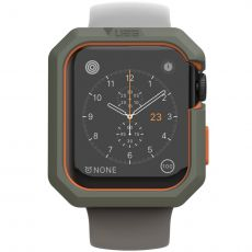UAG Civilian suoja Apple Watch 44mm olive/orange