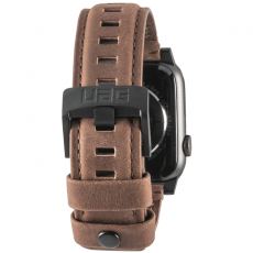 UAG Apple Watch 42/44 mm nahkahihna brown