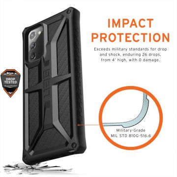 UAG Monarch Cover Galaxy Note20 carbon