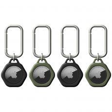 UAG Scout avaimenperät Apple AirTagille, 4 kpl, black/green