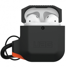 UAG Silicone Case Apple AirPods black/orange