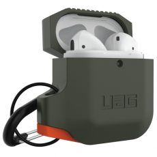 UAG Silicone Case Apple AirPods olive/orange