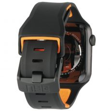 UAG Apple Watch 42/44 mm Civilian silikoni black/orange