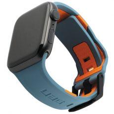 UAG Apple Watch 42/44 mm Civilian silikoni slate/orange