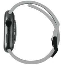 UAG Apple Watch 42/44 mm Scout silikoni silver